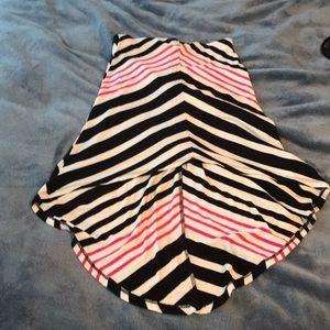 Bebe High-low skirt